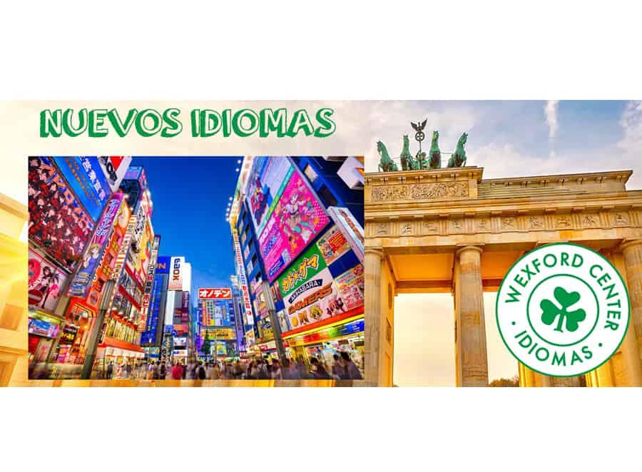 Nuevos idiomas curso 2017/18: alemán y japonés